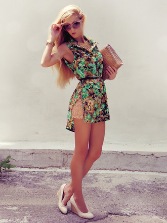 shoes jewels bag shirt shorts sunglasses belt sirma markova