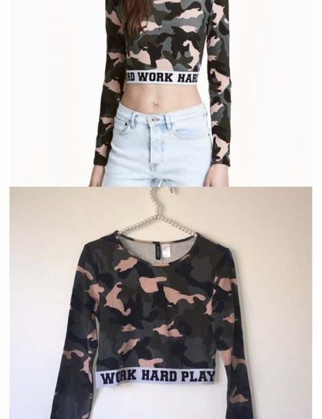 sweater camouflage