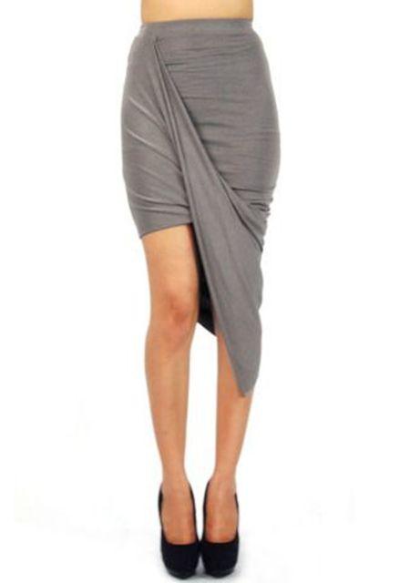 Rise asymmetric skirts online