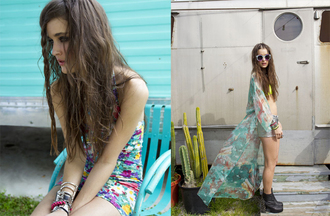 shoes nasty gal nastygal nastygal.com shopnastygal.com lookbook april lookbook minkpink nasty gal x minkpink minkpink x nasty gal tie-dye tie dye dress tie dyed tie dye maxi dress maxi dress colorful dress orion shoe jeffrey campbell floral floral dress arm party bangle bracelets sunnies music festivals nasty gal april lookbook dress underwear