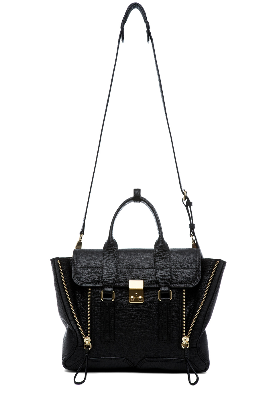 3.1 phillip lim|Medium Pashli Trapeze in Black