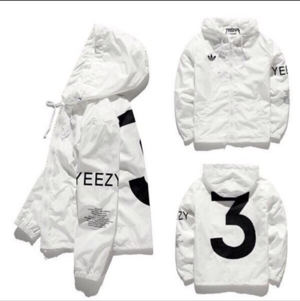 buy popular 5b7ef 89107 YEEZY YEEZUS Jacket MenWindbreaker Jacket Outdoor Brand