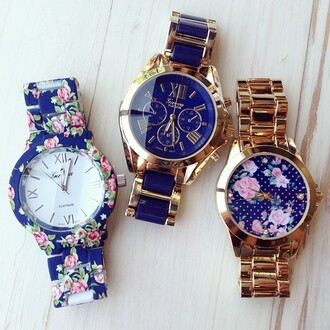 jewels watch jewerly floral