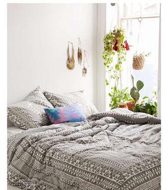 home accessory white grey bedding tumblr bedroom bedroom teen bedrooms boho bedding