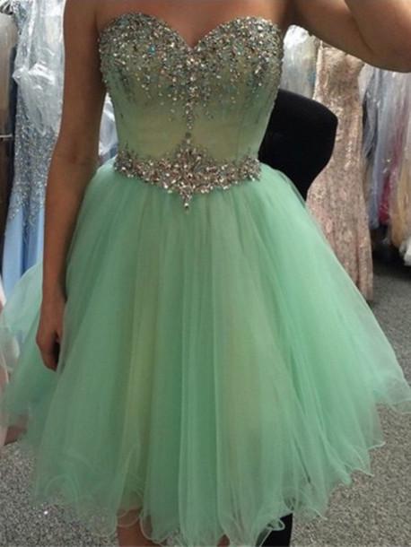 63c66b6ff16 dress homecoming dress mint green homecoming dress mint short dress short prom  dress mint prom dress