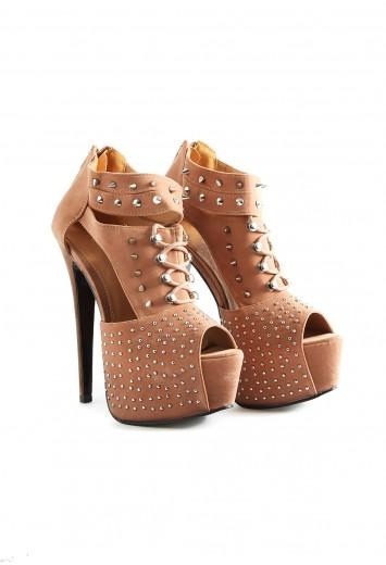 Estrela Gladiator Stud Heels - footwear - heels - missguided