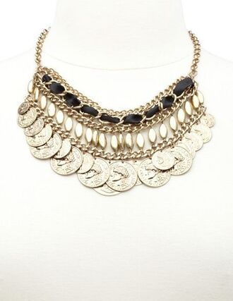 jewels necklace silver chain bib necklaces