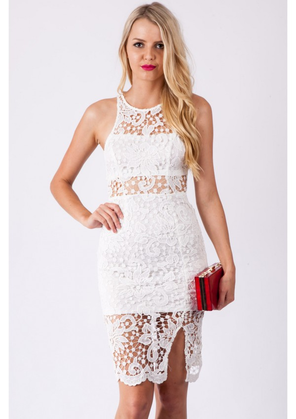 lace dress lace bodycon dress cut out bodycon dress midi dress white dress sexy dress cocktail dress cocktail dress cocktail dress cut-out ebonylacefashion www.ebonylace.net