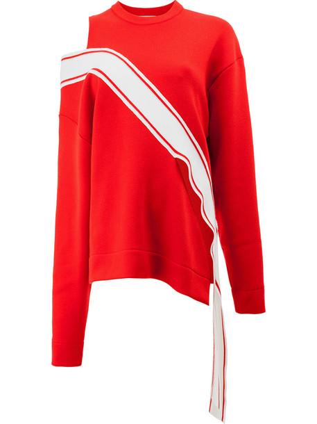 Monse jumper women wool red sweater