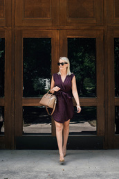 style archives | the style scribe,blogger,dress,bag,shoes,sunglasses,jewels,handbag,purple dress,givenchy bag