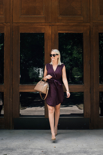 style archives   the style scribe blogger dress bag shoes sunglasses jewels handbag purple dress givenchy bag