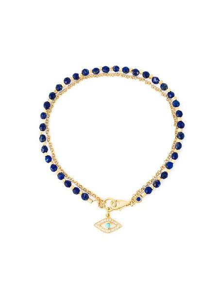 women gold grey turquoise metallic jewels