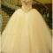 H1684 sparkles sweetheart neckline tulle princess wedding dress :