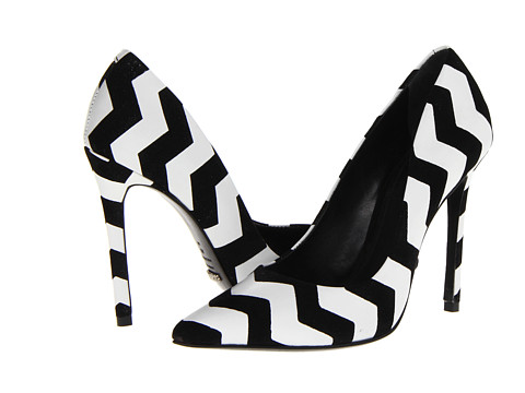 Schutz Gilberta Black/White - Zappos.com Free Shipping BOTH Ways