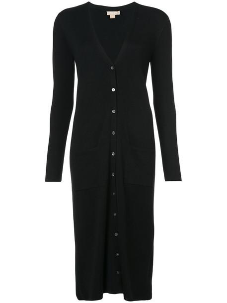 Michael Kors cardigan cardigan long women black sweater
