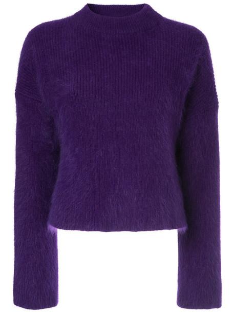Le Ciel Bleu jumper women purple pink sweater
