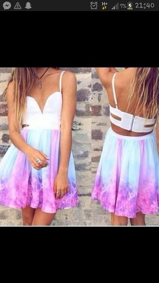 galaxy dress skater dress