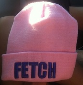 hat,mean girls,fetch,beanie