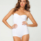 Buy motel hillary strapless body in white at motel rocks