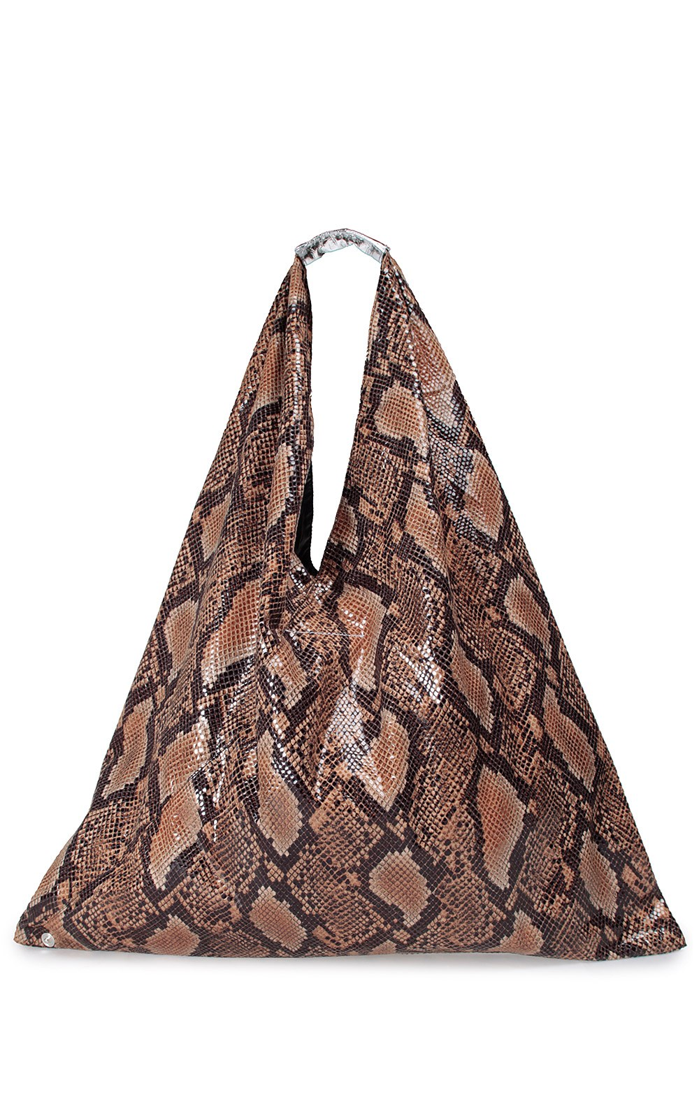 Japanese snake-print tote bag MM6 MAISON MARGIELA