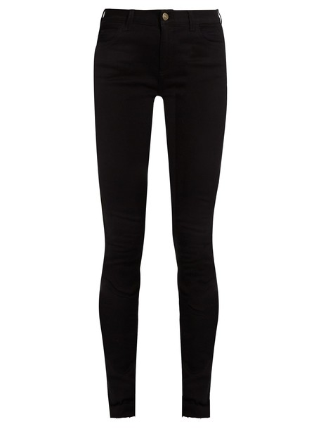 gucci jeans skinny jeans high tiger black