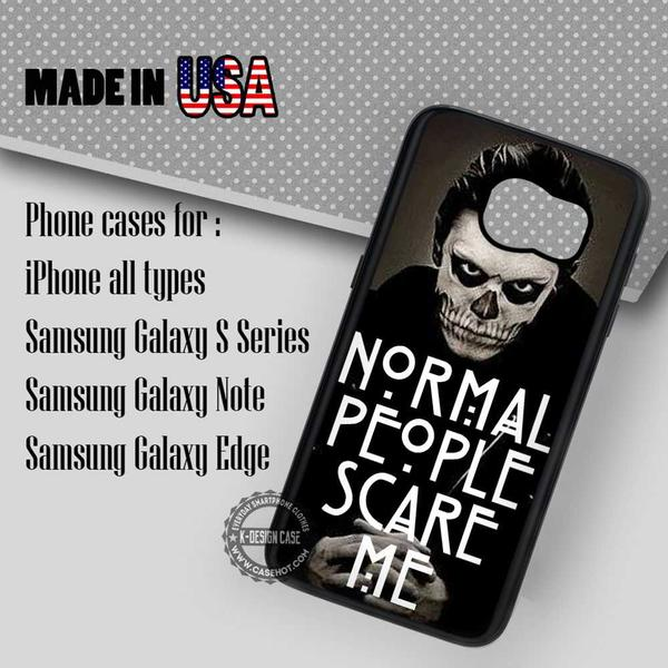Samsung S7 Case - People Scare Me - iPhone Case #SamsungS7Case #Movie #yn