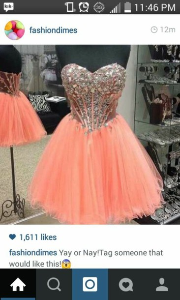 dress pink dress prom dress party dress coral dress High waisted shorts style