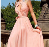 dress,clothes,diamond cutout front,prom dress,long prom dress,peach dress,open back,cap sleeves,peach,coral keyhole neck prom dresses,open back evening dresses,cheap long evening gowns,elegant evening wear
