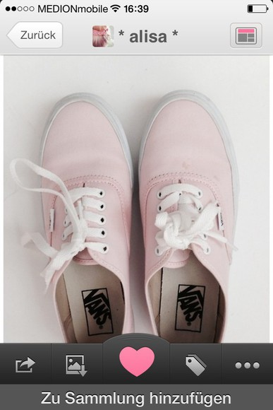vans shoes summer shoes rosa