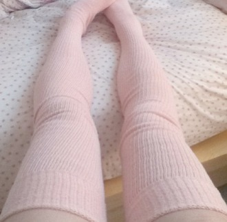 socks pastel pastel pink pastel goth pastel grunge pastel socks ddlg dd/lg pink kawaii kawaii grunge stockings tights thigh highs knee high socks thigh high stockings cute