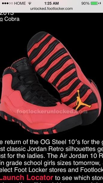 shoes air jordan pink black