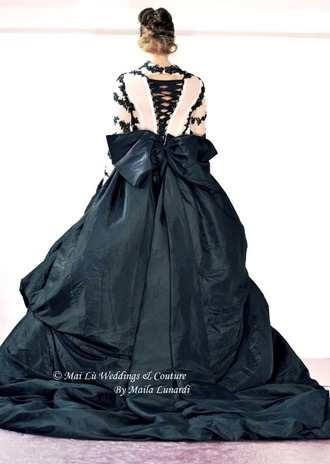dress black dress wedding dress prom dress evening dress wedding bridal mai lù couture