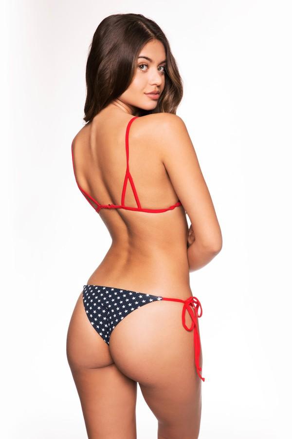 Miss america butt in bikini