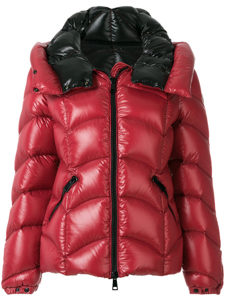 moncler jacket puffer jacket women red