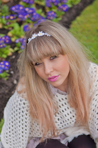 Daisy  Headband  Hippie Boho Daisy Headband Daisy by beauxoxo