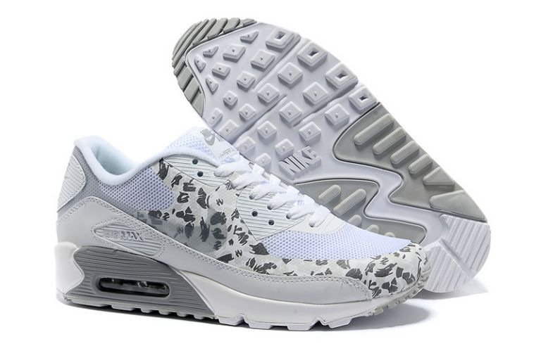Womens Leopard Print White Silver Nike Air Max UK