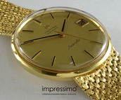 jewels,certina,vintage,gold,watch,1960s fashion,newart,automatic,classic,impressimo