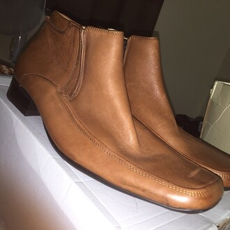 shoes front leather chelsea boots uk 9 like new
