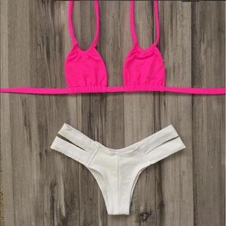 swimwear pink milania bikini swimwear two piece