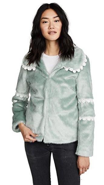 Shrimps jacket mint