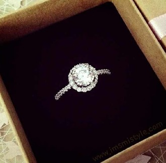 jewels ring diamonds round diamond ring diamond ring inexpensive silver diamond ring
