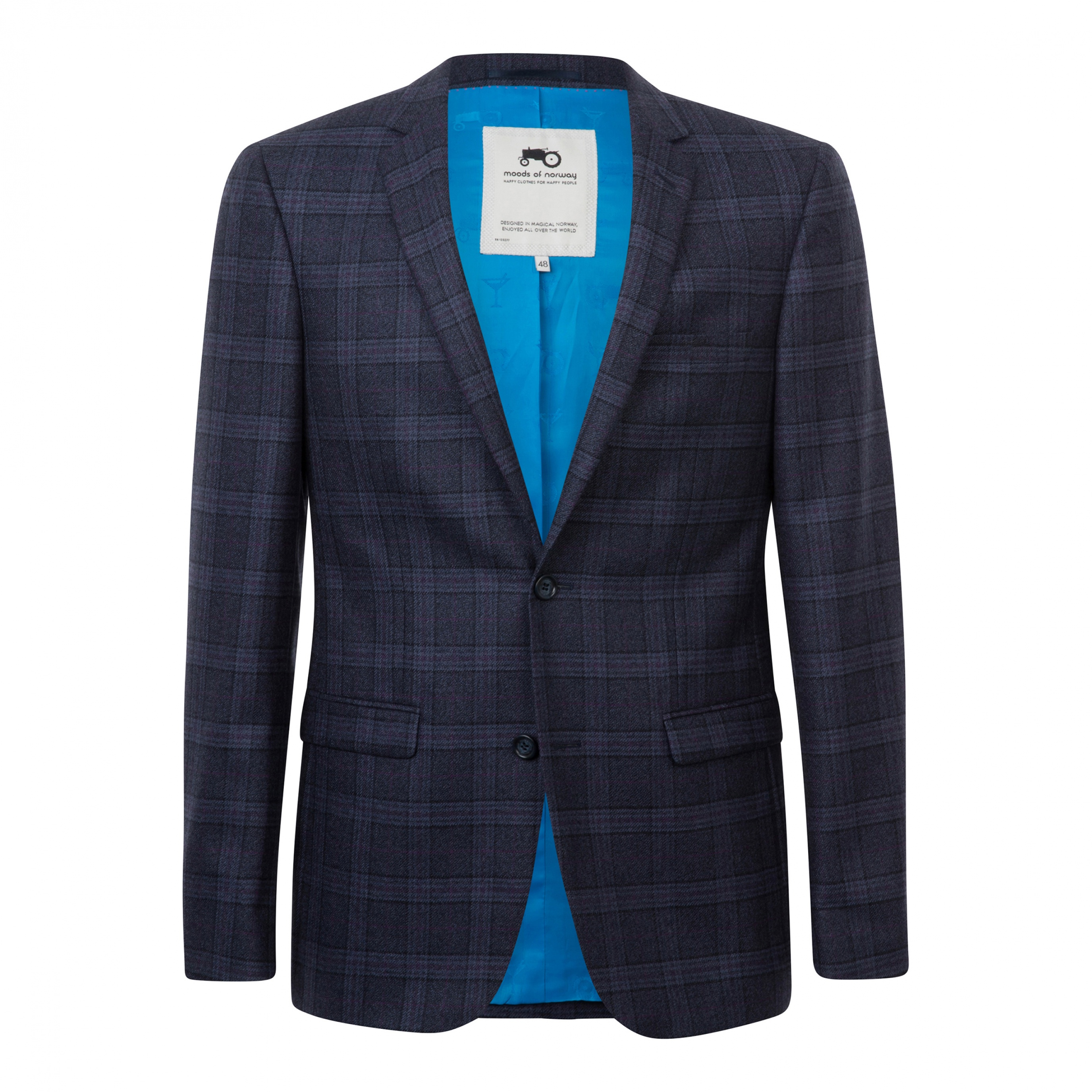 Rolf tonning plaid suit jacket