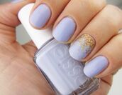 nail polish,purple,blue,periwinkle,essie