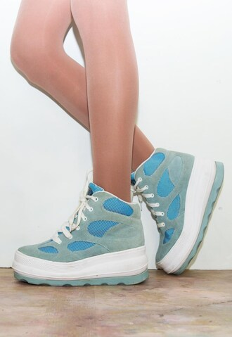 shoes platform shoes chunky 90s style suede sneakers trainers high top sneakers high top nikes