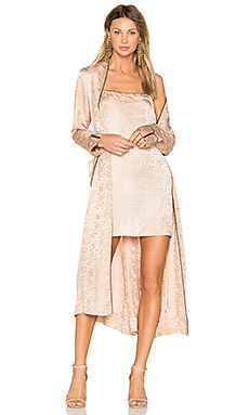 Raquel Allegra Robe Dress in Desert Wash from Revolve.com