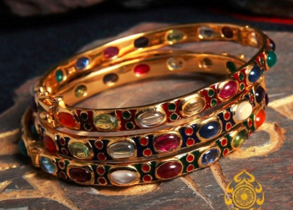 jewels gilding bracelets boho gold gemstone