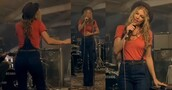 jeans,braces,fergie,high waisted jeans,overalls,blue jeans,music,jumpsuit