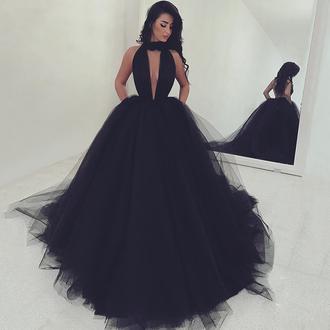 dress dressesofgirl black prom dress ball gowns prom dress high neck prom dresses backless prom dress sexy prom dress prom gowns prom dresses 2017 ball gown prom dresses prom ball gowns