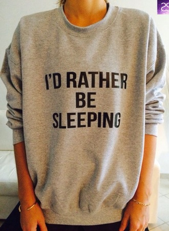 sweater grey quote on t-shirt quote quote on it grey sweater bold print bold statement bold print sweater cotton casual comfy