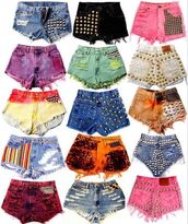 studded shorts,shorts,galaxy print,High waisted shorts,vintage levi's shorts black high waisted,short,vintage,vintage shorts,galaxy shorts,denim vintage levis,levi's,lee,studded,denim,denim shorts,jeans,high waisted,high waisted denim shorts,levis 501,custom shorts,levi's shorts,studs,dyed shorts,colored,glitter,ombre,rainbow,colorful,black shorts studs,style,cute,flawless,pajamas